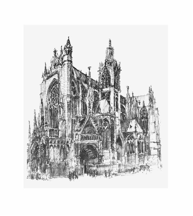 AlfonsFontaine_KathedraleMetz
