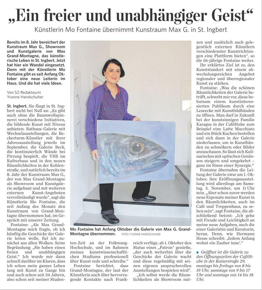 Saarbrücker Zeitung vom 17.10.2016 Seite C5