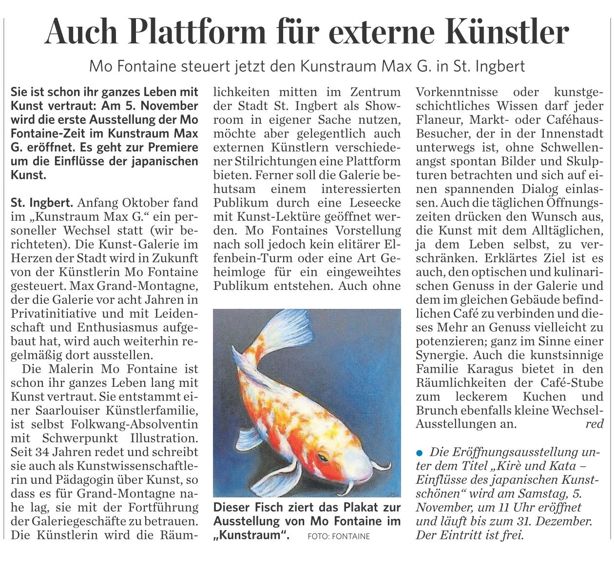 Saarbrücker Zeitung vom 25.10.2016 Seite C 6